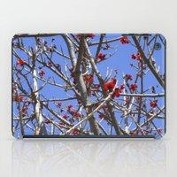 Blossoms On A Barren Tree iPad Case