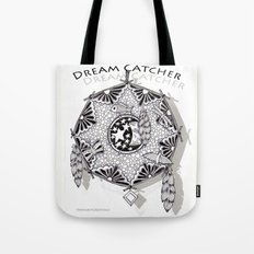 Zentangle Dreamcatcher Tote Bag