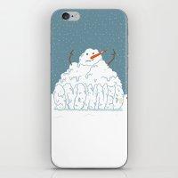 SNOWNED iPhone & iPod Skin