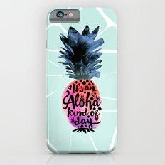Pineapple Aloha Type Slim Case iPhone 6s