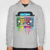 Hippie Van Dripping Rain… Hoody