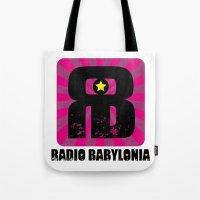 Radio Babylonia Tote Bag