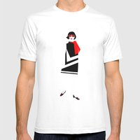 Mod4 Mens Fitted Tee White SMALL