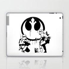 Banksy Troopers Laptop & iPad Skin