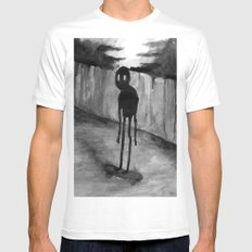 Skaterade Mens Fitted Tee White SMALL