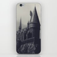 Ominous Castle iPhone & iPod Skin