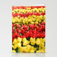 Red And Gold Stationery Cards