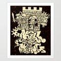 kill the king. Art Print