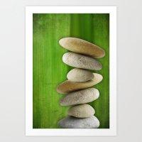 Stones 4 Art Print