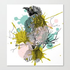 out bird Canvas Print