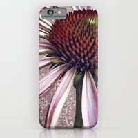 iPhone Cases featuring coneflower chic by inourgardentoo