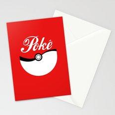 Poké Stationery Cards