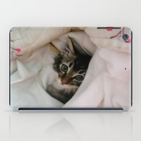 Kitten in Covers iPad Case