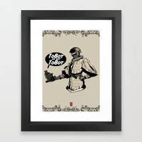 To Bot Or Not To Bot Framed Art Print