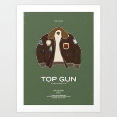 Dress The Part - Top Gun Art Print