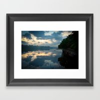 Backwaters Framed Art Print