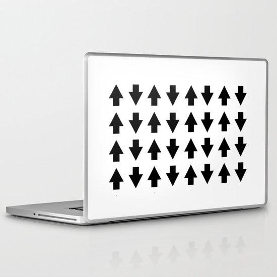 Arrows Black Laptop & iPad Skin