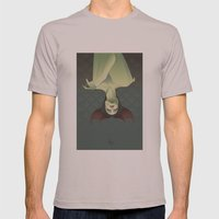 SLEEPING BANSHEE Mens Fitted Tee Cinder SMALL
