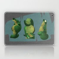 3 Dragons In A Cave Laptop & iPad Skin