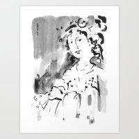 Saskia #2 Art Print