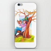 The Beginning Of An Adve… iPhone & iPod Skin