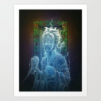 Art Print featuring Marley's Christmas Carol by Dr. Lukas Brezak