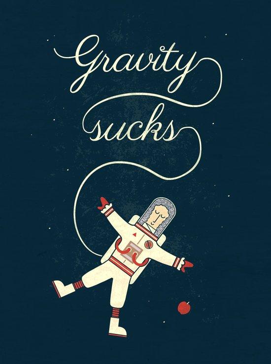 It's More Fun In Space Art Print
