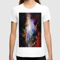 galaxy T-shirts featuring GaLaXY : Orion Nebula Dark & Colorful by GalaxyDreams