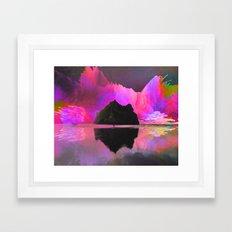 Lone Watcher Framed Art Print