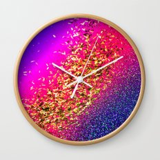 Color My Universe Wall Clock