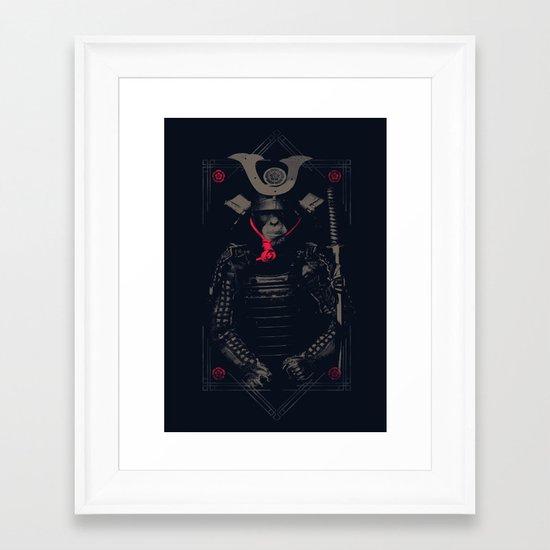 rise of the ape Framed Art Print