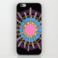 radial blame II iPhone & iPod Skin