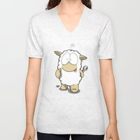 Friend Sheep Unisex V-Neck