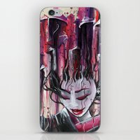Geisha in Mushrooms: The Surrealistic Concubine iPhone & iPod Skin