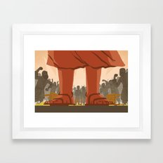 Den of Thieves (by Ward Jenkins) Framed Art Print