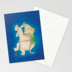 Happy Dreamtime Elephant Stationery Cards