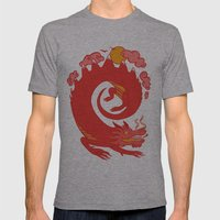 Dragon Mens Fitted Tee Athletic Grey SMALL