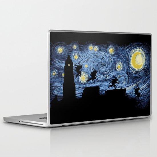 Starry Fight Laptop & iPad Skin