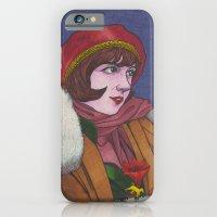 iPhone & iPod Case featuring Clara B. by Anna Gogoleva