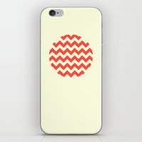 Chevron Full Circle iPhone & iPod Skin