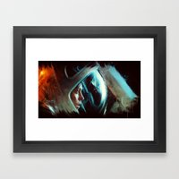 Nostromo 1.0 Framed Art Print