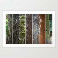 Mix arboreo Art Print