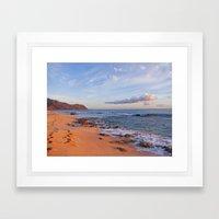 Sunset Glow  Framed Art Print