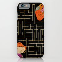 iPhone & iPod Case featuring labyrinth by Christina Tsevis