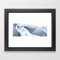MOUNTAINS 2 Framed Art Print
