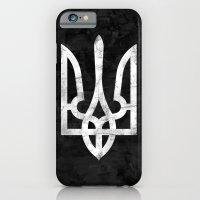 Ukraine Black Grunge iPhone 6 Slim Case