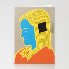 Cell In Her Head Stationery Cards