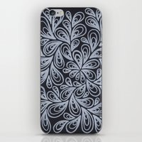 White Drops iPhone & iPod Skin