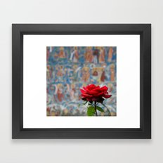Moldova Rose Framed Art Print