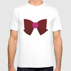 Sailor Pluto Bow Mens Fitted Tee White SMALL